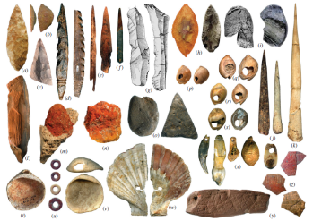 Some of the fanciest stone age tools our ancestors made; all of which were invented after our brain stopped growing.