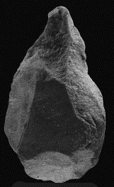 A handaxe from the Korean site of Chongokni