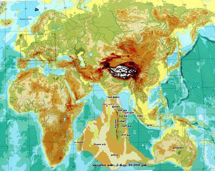 The lost continent of Kumari land: home of humanity?