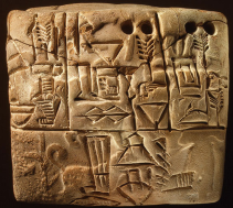 Some of the oldest known writing, from Jemdet Nasr